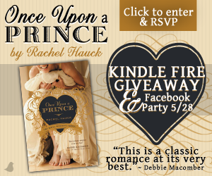 rachel hauck once upon a prince kindle fire Giveaway